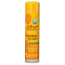 Alba Hawaiian Lip Balm Pineapple Quench