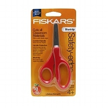 Fiskars Scissors Blunt, Kids Assorted Colors