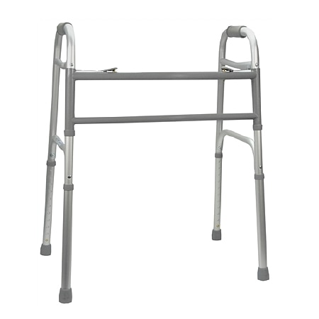 Medline Two-Button Walker Extra-Wide