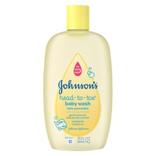 Johnson's Baby Head-to-Toe Baby Wash Original Formula