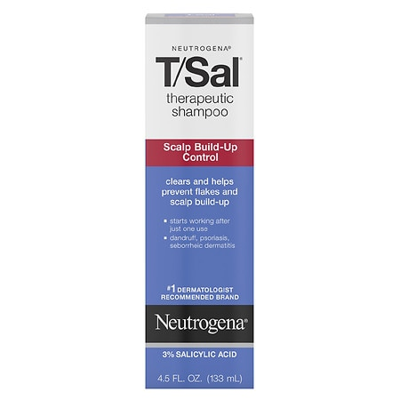 Therapeutic Shampoo Scalp Build-Up Control by Neutrogena T/Sal