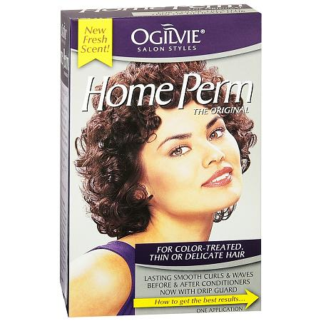 Ogilvie Home Perm Kit for Color-Treated, Thin or Delicate Hair