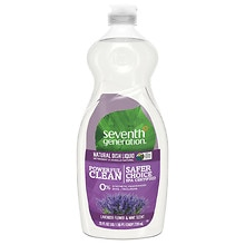 Seventh Generation Natural Dish Liquid Lavender Floral and Mint