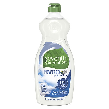 Seventh Generation Natural Dish Liquid Free and Clear