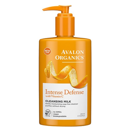 Avalon Organics Vitamin C Hydrating Cleansing Milk