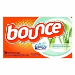 Bounce Fabric Sheets with Febreze Meadows & Rain