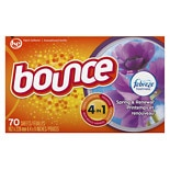 Bounce Fabric Softener Sheets with FebrezeSpring & Renewal