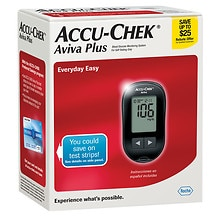 Accu Chek Aviva Plus Diabetes Monitoring Kit Walgreens