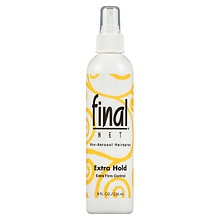 Final Net Hair Spray, Non-Aerosol Extra Hold Unscented