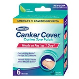 Quantum Canker Cover Canker Sore Patch Natural Mint Flavor