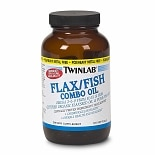 Twinlab Flax/Fish Combo Oil Dietary Supplement Softgels