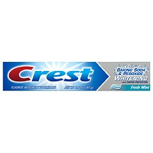 Crest Whitening Fluoride Anticavity Toothpaste Fresh Mint