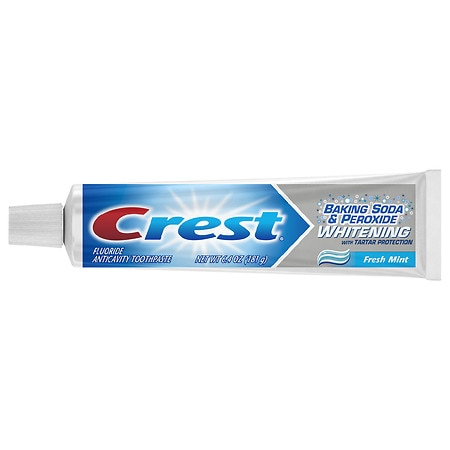 crest baking soda and peroxide whitening with tartar protection toothpaste fresh mint walgreens. Black Bedroom Furniture Sets. Home Design Ideas