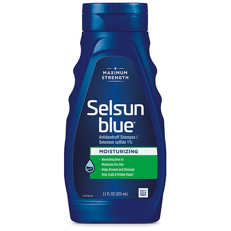 Selsun Blue Dandruff Shampoo, Moisturizing Treatment