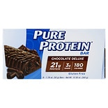 Pure Protein Snack Bar, 6 Pack Chocolate Deluxe