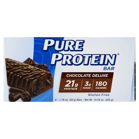 Pure Protein Snack Bar Chocolate Deluxe,6 pk