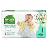 Seventh Generation Baby Free & Clear Diapers Stage 1, 8-14 lbs
