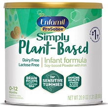 Enfamil ProSobee Soy Infant Formula for Sensitive Tummy, Powder, 0-12 months