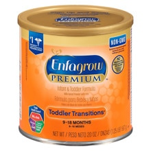 Enfagrow Premium Infant & Toddler Formula 24 oz Can makes 172 Fluid Ounces