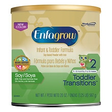 Enfagrow Soy Next Step Lipil, Toddler and Infant Formula, Soy- Based Powder with Iron