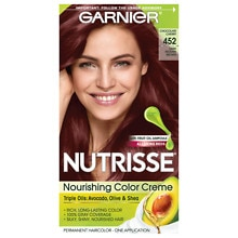 Garnier Nutrisse Nourishing Color Creme Permanent Haircolor Dark Reddish Brown (Chocolate Cherry)