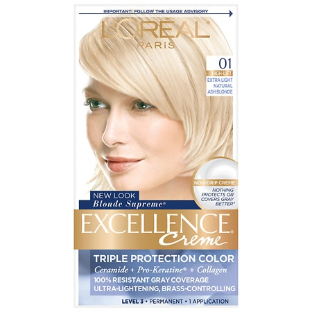 L\'Oreal Paris Excellence Creme Triple Protection Permanent Hair ...