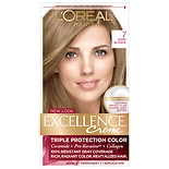 L'Oreal Excellence Triple Protection Permanent Hair Color Creme Dark Blonde 7