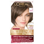 L'Oreal Paris Excellence Triple Protection Permanent Hair Color Creme Medium Brown 5