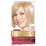 L'Oreal Paris Excellence Triple Protection Permanent Hair Color Creme Light Natural Blonde 9