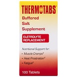 Thermotabs Salt Supplement Buffered Tablets