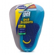 Dr. Scholl's Massaging Gel Arch Supports Men's Men's Size 8-13