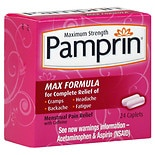 Pamprin Maximum Strength Maximum Strength Menstrual Pain Relief Caplets