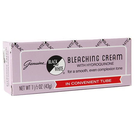 Black and White Bleaching Cream with Hydroquinone