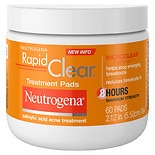 Neutrogena Rapid Clear Maximum Strength Acne Treatment Pads