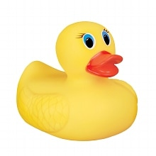 White Hot Safety Bath Ducky, Assorted Colors