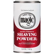Magic Shaving PowderExtra Strength, Extra Strength