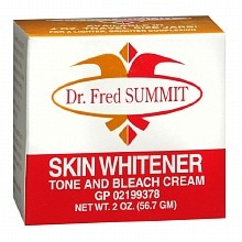 Dr. Fred Palmer Skin Whitener Tone and Bleach Cream