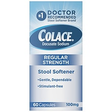 Colace Stool Softener Capsules