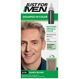 Just For Men Shampoo-In Haircolor Sandy Blond 10