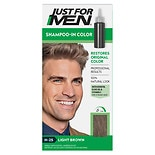 Just For Men Shampoo-In Haircolor Light Brown 25