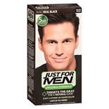 Just For Men Shampoo-In Haircolor Real Black 55