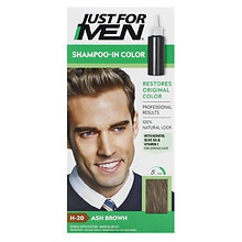 Just For Men Shampoo-In Haircolor Ash Brown 20