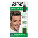 Just For Men Shampoo-In Haircolor Medium-Dark Brown 40