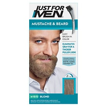 Just For Men Mustache & Beard Brush-in Color Gel Sandy Blond M-10
