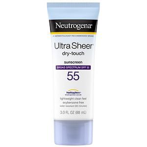 Neutrogena Ultra Sheer Dry-Touch Sunblock, SPF 55