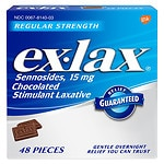 Save 20% on Ex-Lax laxatives.