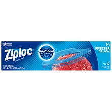 Ziploc Heavy Duty Freezer Bags Gallon