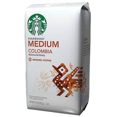 Starbucks Medium Roast, Columbia, Ground