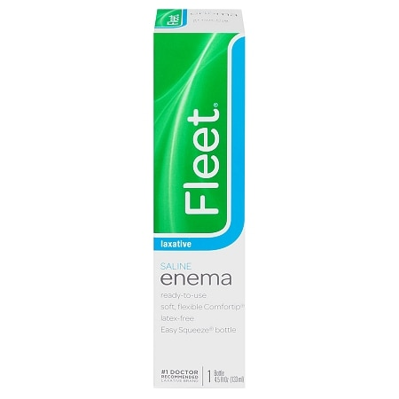 Fleet Saline Enema Laxative