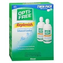 Opti-Free Replenish Multi-Purpose Disinfecting Contact Solution 2 Pack Value Pack